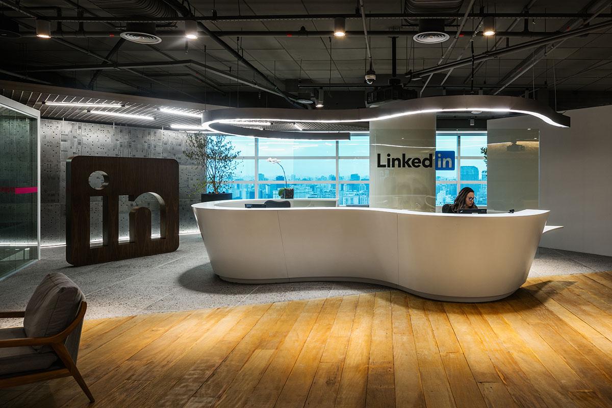 Conheçam o espaço de trabalho do LinkedIn